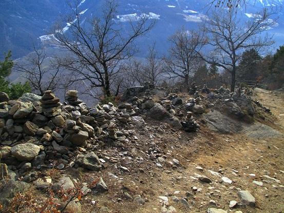 Foto: Andreas Koller / Klettersteigtour / Klettersteig Hoachwool Naturnser Sonnenberg (1200m) / 12.04.2015 17:48:17
