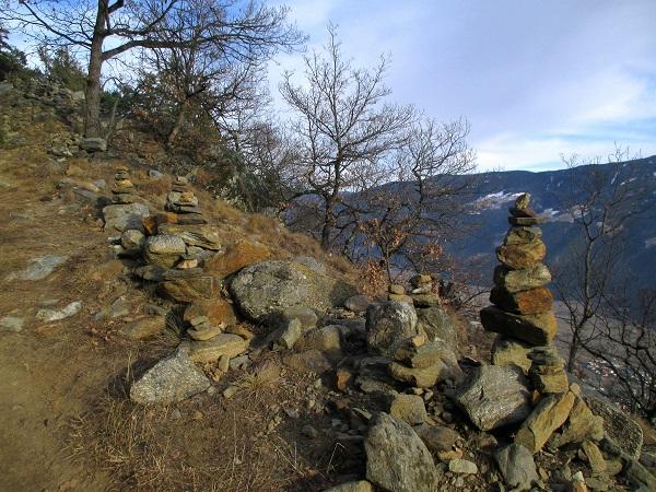 Foto: Andreas Koller / Klettersteigtour / Klettersteig Hoachwool Naturnser Sonnenberg (1200m) / 12.04.2015 17:47:54