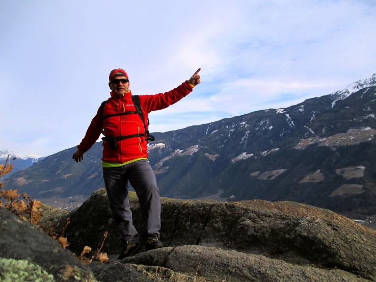 Foto: Andreas Koller / Klettersteigtour / Klettersteig Hoachwool Naturnser Sonnenberg (1200m) / 12.04.2015 17:17:47