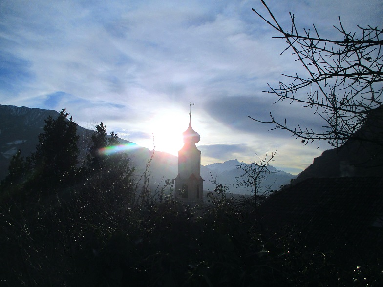 Foto: Andreas Koller / Klettersteigtour / Klettersteig Hoachwool Naturnser Sonnenberg (1200m) / 12.04.2015 16:06:15