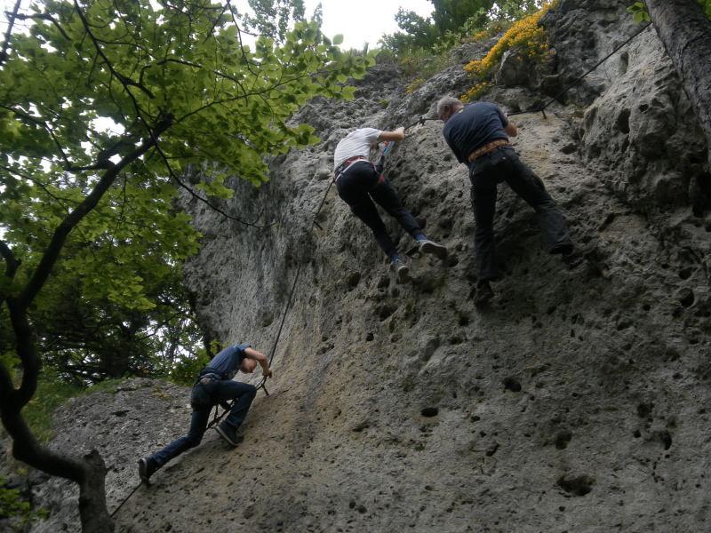 Klettersteig Höhenglücksteig : Bilder vom tageskurs klettersteig winter special am