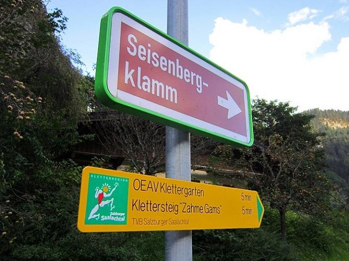 Klettersteig Zahme Gams : Klettersteig zahme gams tour