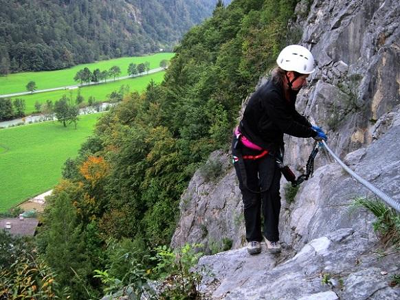 Klettersteig Zahme Gams : Klettersteige mit kindern in bayern und Österreich weiße gams