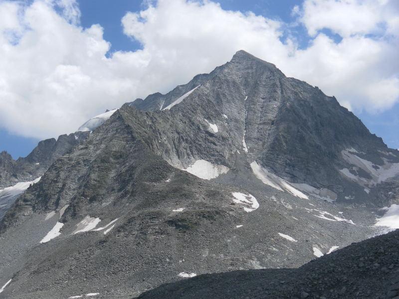 Foto: Wolfgang Lauschensky / Wander Tour / Magerstein 3273m aus dem Bachertal / Hochgall Westflanke / 25.07.2015 23:06:46