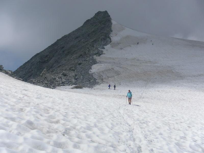 Foto: Wolfgang Lauschensky / Wander Tour / Magerstein 3273m aus dem Bachertal / Abstieg / 25.07.2015 23:04:51