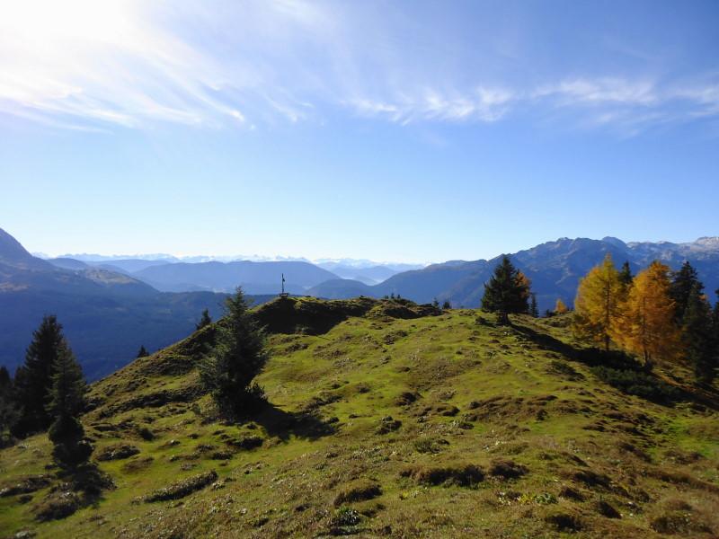 Foto: Günter Siegl / Wandertour / Bodenberg von Rußbach / Am etwas höheren Gipfel / 15.11.2015 21:21:20