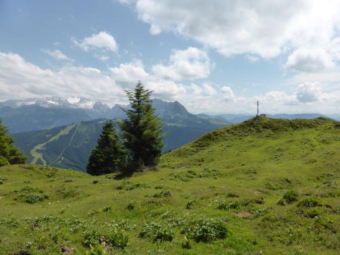 Foto: Manfred Karl / Wandertour / Bodenberg von Rußbach / Bodenberg mit Gosaukamm - Dachstein / 19.08.2015 21:10:53