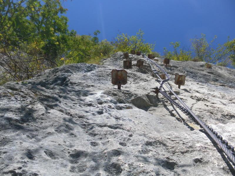 Klettersteig Comer See : Fotogalerie tourfotos fotos zur klettersteig tour corni di