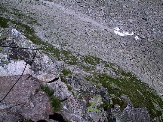 Klettersteig Krokodil : Krokodil a k s