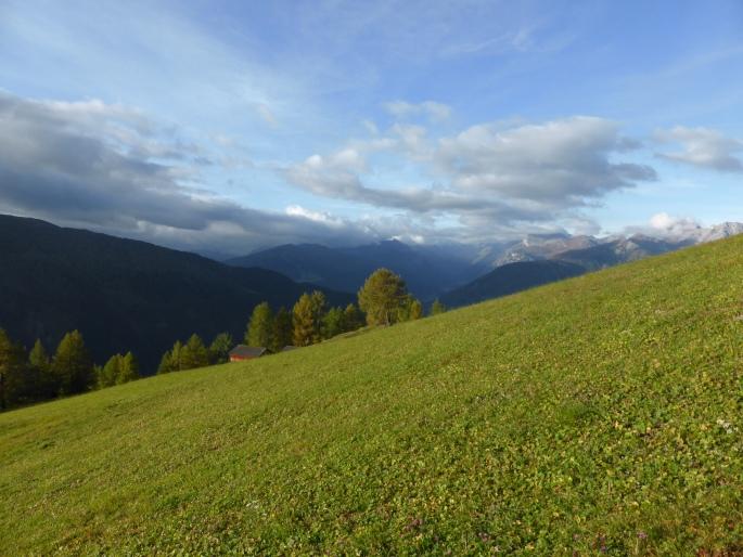 Foto: Manfred Karl / Klettersteigtour / Rauher Kamm am Pfoner Kreuzjöchl / Unterhalb der Mislalm / 10.11.2015 21:41:16