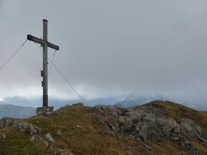 Foto: Manfred Karl / Klettersteigtour / Rauher Kamm am Pfoner Kreuzjöchl / Mislkopf / 10.11.2015 21:39:45