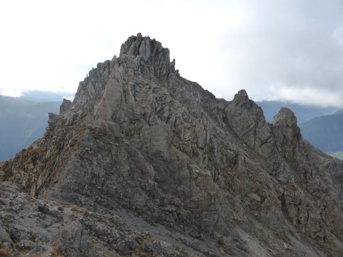 Foto: Manfred Karl / Klettersteigtour / Rauher Kamm am Pfoner Kreuzjöchl / 10.11.2015 21:36:06