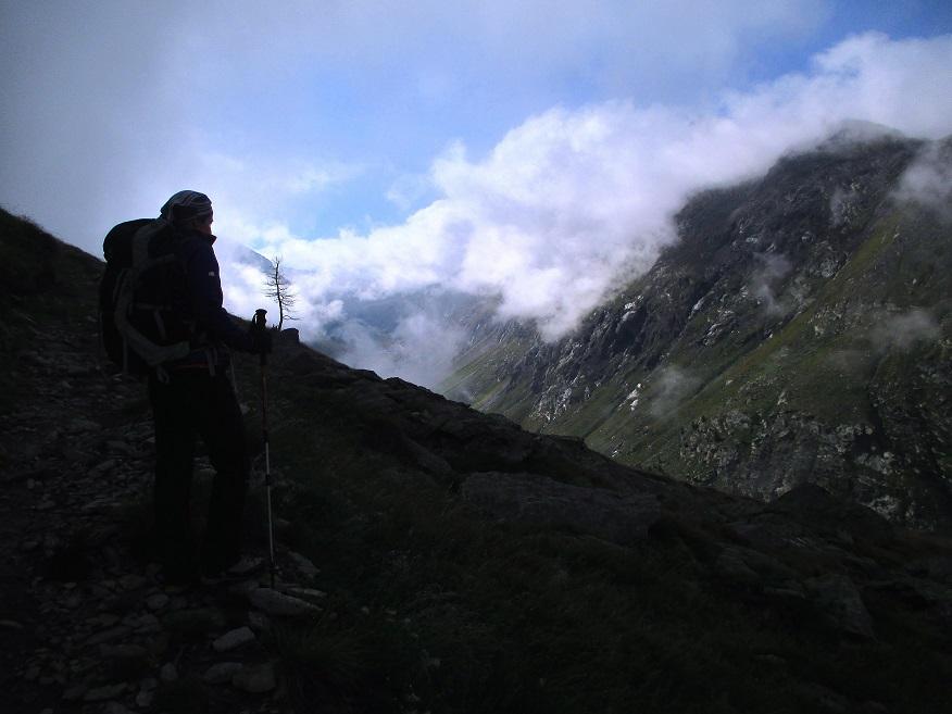 Foto: Andreas Koller / Klettersteigtour / Klettersteig Almagellerhorn (3327m) / 17.11.2015 01:55:11