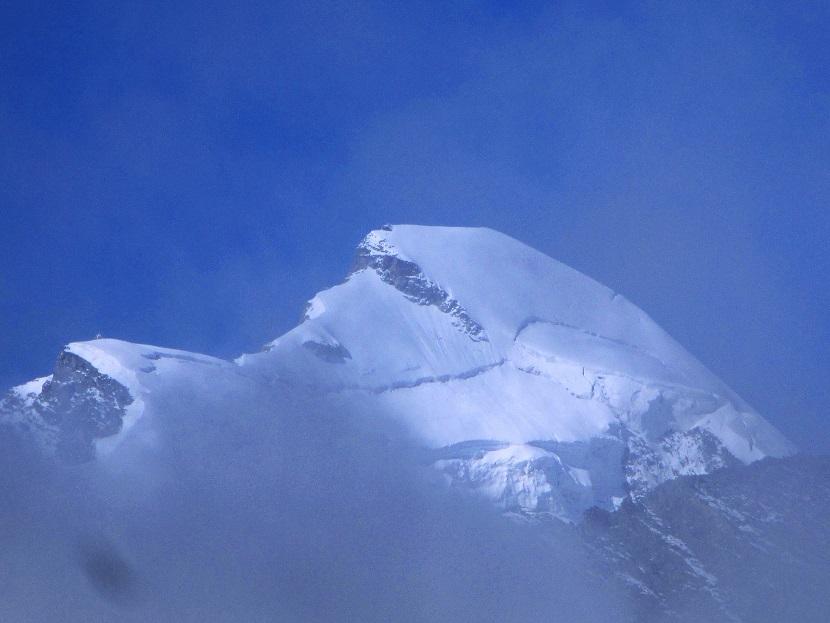Foto: Andreas Koller / Klettersteigtour / Klettersteig Almagellerhorn (3327m) / 17.11.2015 01:55:01