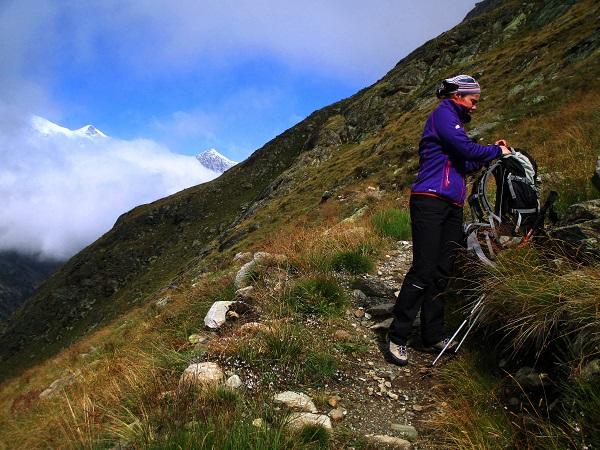 Foto: Andreas Koller / Klettersteigtour / Klettersteig Almagellerhorn (3327m) / 17.11.2015 01:54:44