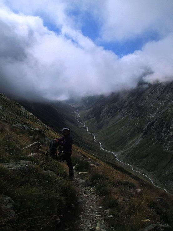 Foto: Andreas Koller / Klettersteigtour / Klettersteig Almagellerhorn (3327m) / 17.11.2015 01:54:36