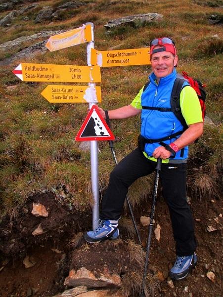 Foto: Andreas Koller / Klettersteigtour / Klettersteig Almagellerhorn (3327m) / 17.11.2015 01:54:01