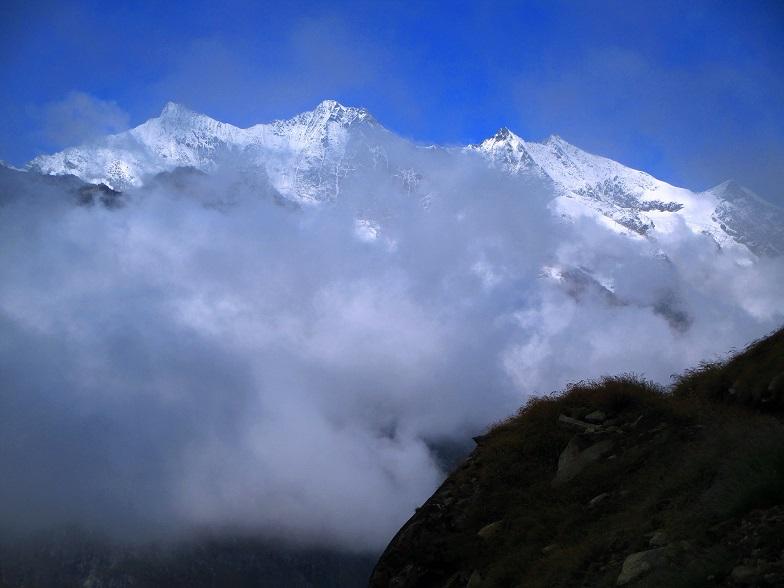 Foto: Andreas Koller / Klettersteigtour / Klettersteig Almagellerhorn (3327m) / 17.11.2015 01:53:52