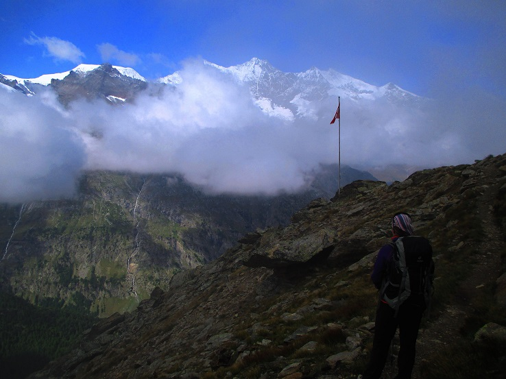 Foto: Andreas Koller / Klettersteigtour / Klettersteig Almagellerhorn (3327m) / 17.11.2015 01:53:36
