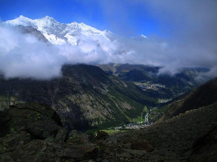Foto: Andreas Koller / Klettersteigtour / Klettersteig Almagellerhorn (3327m) / 17.11.2015 01:53:28