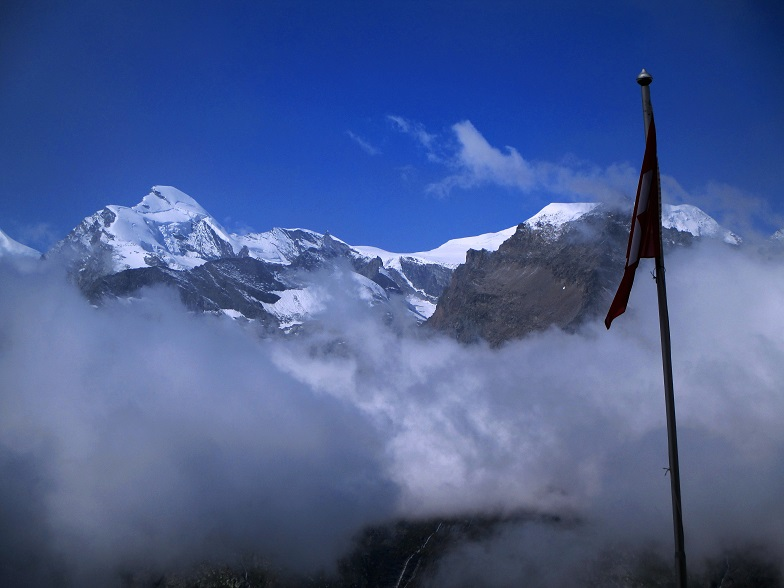 Foto: Andreas Koller / Klettersteigtour / Klettersteig Almagellerhorn (3327m) / 17.11.2015 01:53:17