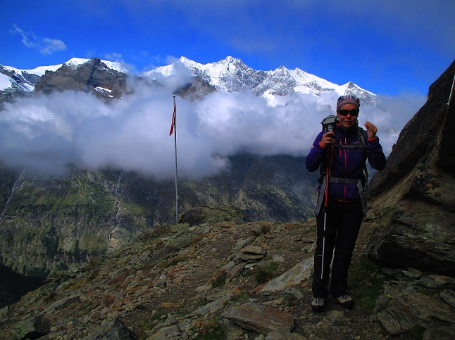 Foto: Andreas Koller / Klettersteigtour / Klettersteig Almagellerhorn (3327m) / 17.11.2015 01:53:09