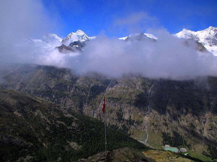 Foto: Andreas Koller / Klettersteigtour / Klettersteig Almagellerhorn (3327m) / 17.11.2015 01:52:06