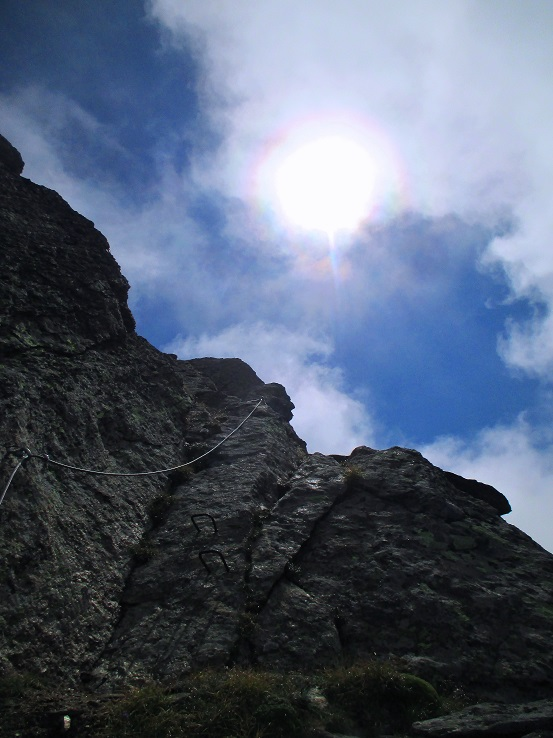 Foto: Andreas Koller / Klettersteigtour / Klettersteig Almagellerhorn (3327m) / 17.11.2015 01:51:09