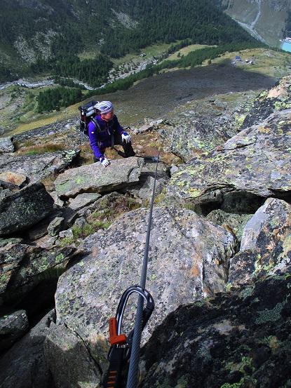 Foto: Andreas Koller / Klettersteigtour / Klettersteig Almagellerhorn (3327m) / 17.11.2015 01:50:25