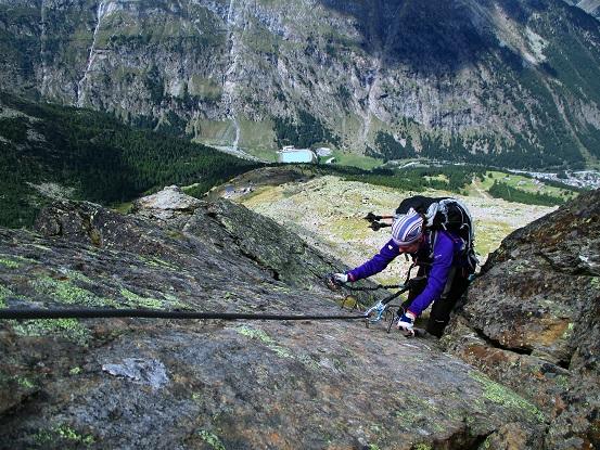 Foto: Andreas Koller / Klettersteigtour / Klettersteig Almagellerhorn (3327m) / 17.11.2015 01:49:57