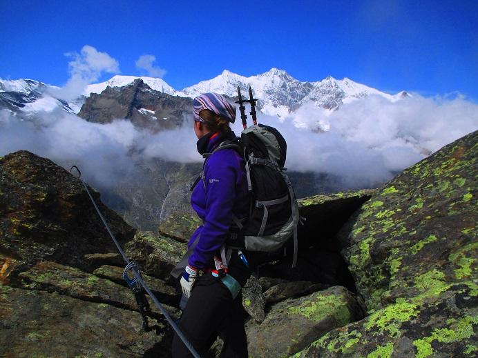 Foto: Andreas Koller / Klettersteigtour / Klettersteig Almagellerhorn (3327m) / 17.11.2015 01:49:48