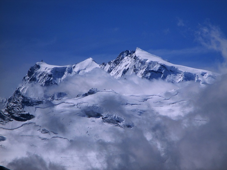 Foto: Andreas Koller / Klettersteigtour / Klettersteig Almagellerhorn (3327m) / 17.11.2015 01:48:35