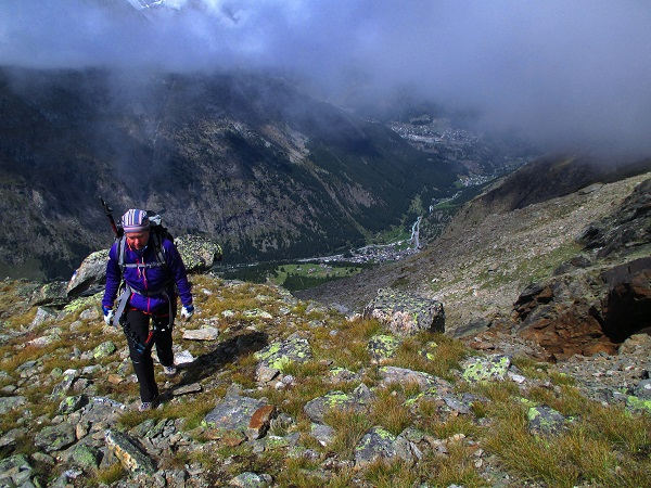 Foto: Andreas Koller / Klettersteigtour / Klettersteig Almagellerhorn (3327m) / 17.11.2015 01:48:25
