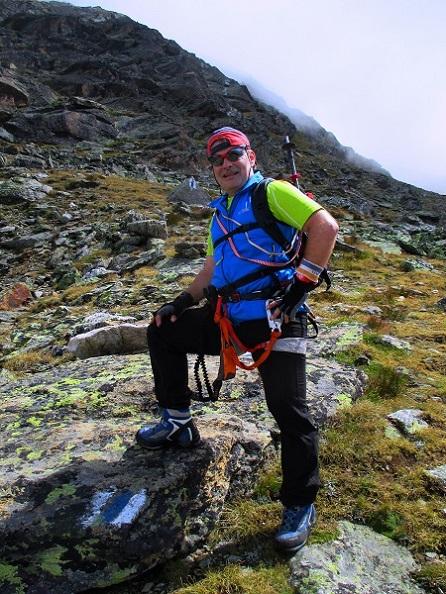Foto: Andreas Koller / Klettersteigtour / Klettersteig Almagellerhorn (3327m) / 17.11.2015 01:48:09