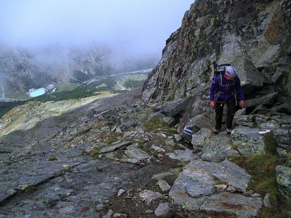 Foto: Andreas Koller / Klettersteigtour / Klettersteig Almagellerhorn (3327m) / 17.11.2015 01:47:49
