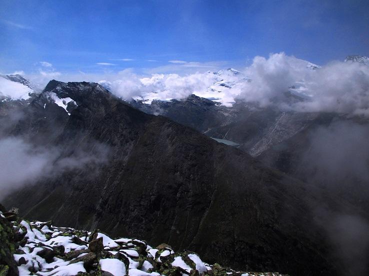 Foto: Andreas Koller / Klettersteigtour / Klettersteig Almagellerhorn (3327m) / 17.11.2015 01:47:06