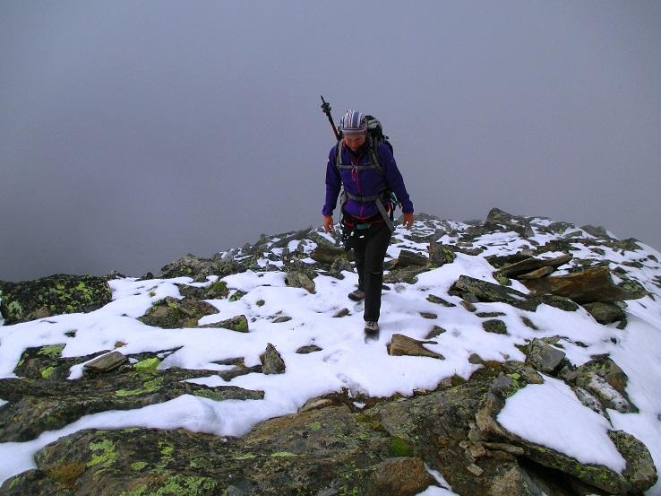 Foto: Andreas Koller / Klettersteigtour / Klettersteig Almagellerhorn (3327m) / 17.11.2015 01:46:54