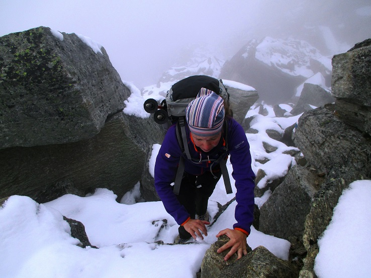 Foto: Andreas Koller / Klettersteigtour / Klettersteig Almagellerhorn (3327m) / 17.11.2015 01:46:34