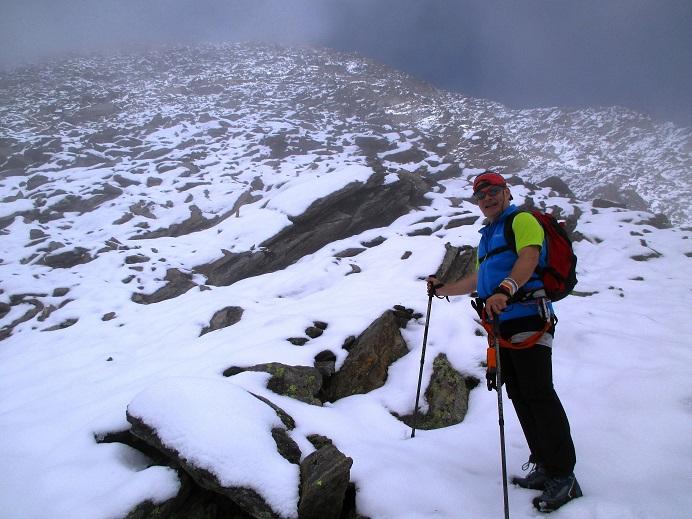 Foto: Andreas Koller / Klettersteigtour / Klettersteig Almagellerhorn (3327m) / 17.11.2015 01:46:24