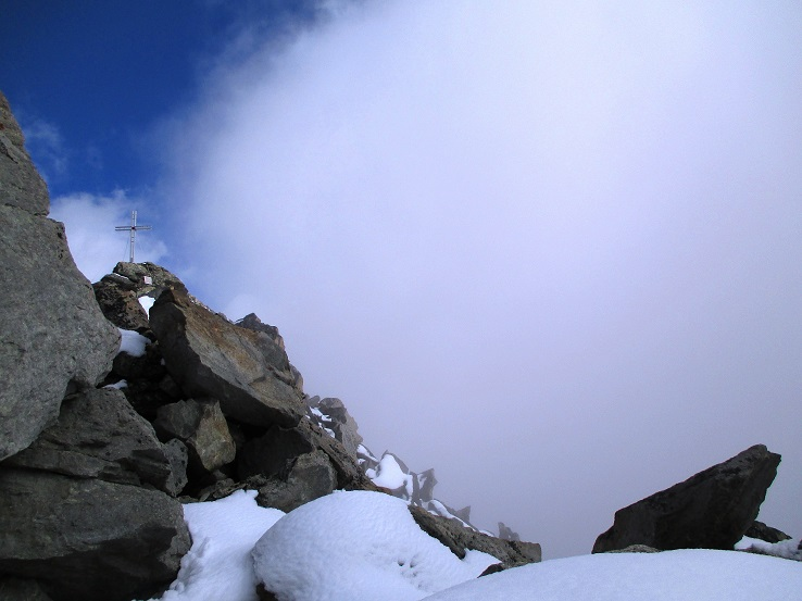 Foto: Andreas Koller / Klettersteigtour / Klettersteig Almagellerhorn (3327m) / 17.11.2015 01:46:05