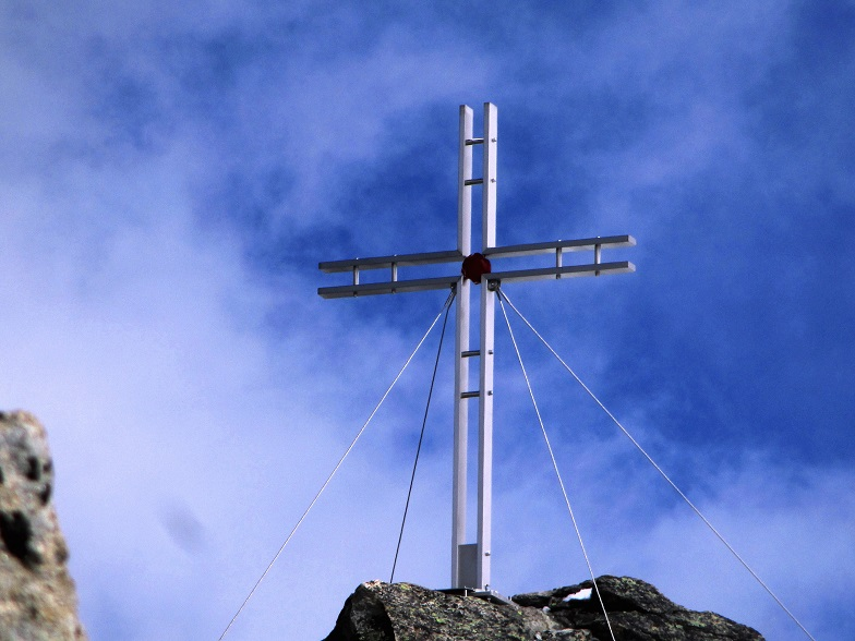 Foto: Andreas Koller / Klettersteigtour / Klettersteig Almagellerhorn (3327m) / Am Almagellerhorn / 17.11.2015 01:45:50