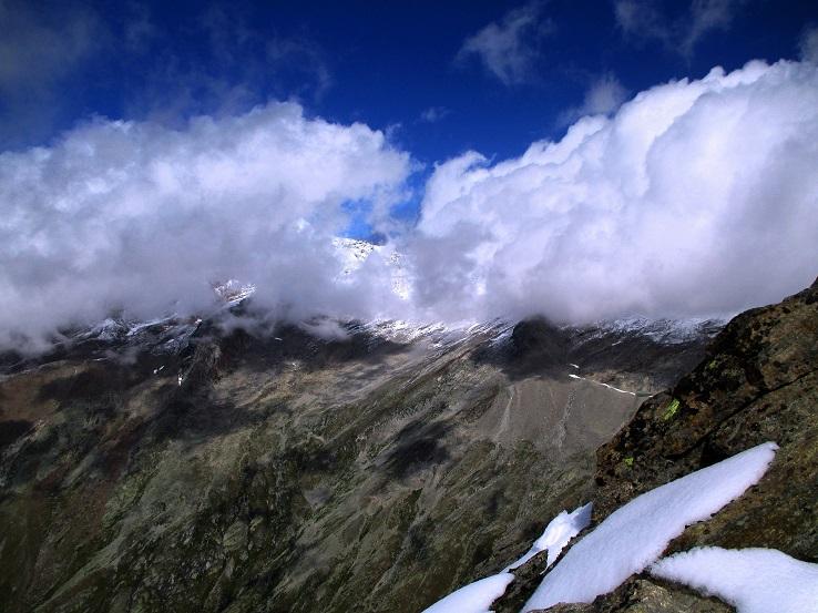 Foto: Andreas Koller / Klettersteigtour / Klettersteig Almagellerhorn (3327m) / 17.11.2015 01:45:09