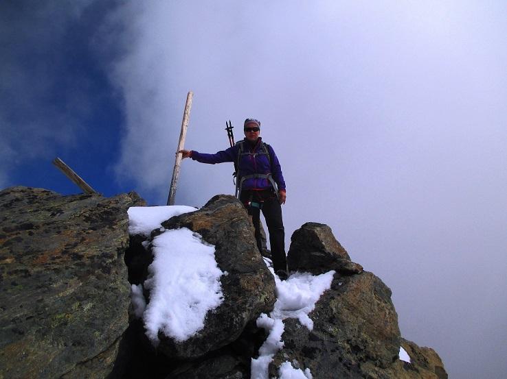Foto: Andreas Koller / Klettersteigtour / Klettersteig Almagellerhorn (3327m) / 17.11.2015 01:44:11