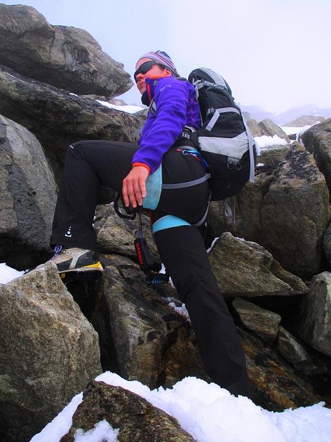 Foto: Andreas Koller / Klettersteigtour / Klettersteig Almagellerhorn (3327m) / 17.11.2015 01:43:38