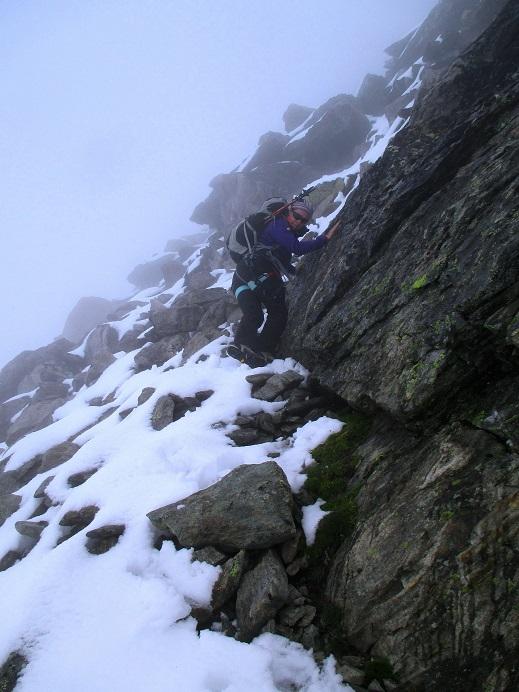 Foto: Andreas Koller / Klettersteigtour / Klettersteig Almagellerhorn (3327m) / 17.11.2015 01:43:25