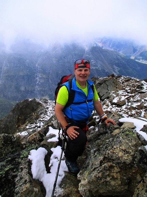 Foto: Andreas Koller / Klettersteigtour / Klettersteig Almagellerhorn (3327m) / 17.11.2015 01:42:43