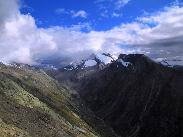 Foto: Andreas Koller / Klettersteigtour / Klettersteig Almagellerhorn (3327m) / 17.11.2015 01:42:02