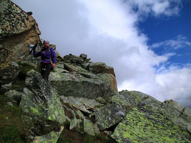Foto: Andreas Koller / Klettersteigtour / Klettersteig Almagellerhorn (3327m) / 17.11.2015 01:41:41
