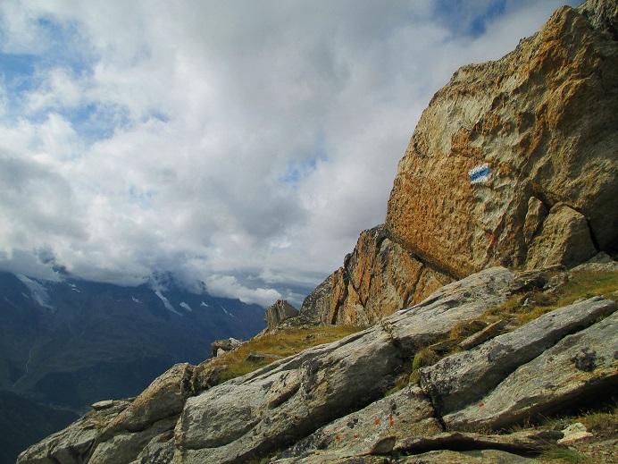 Foto: Andreas Koller / Klettersteigtour / Klettersteig Almagellerhorn (3327m) / 17.11.2015 01:41:31