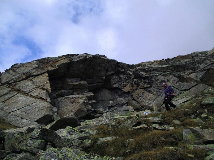 Foto: Andreas Koller / Klettersteigtour / Klettersteig Almagellerhorn (3327m) / 17.11.2015 01:41:11